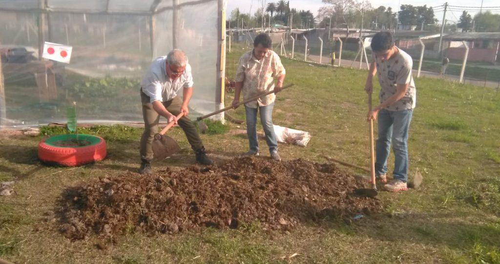Laboreo meticuloso del suelo